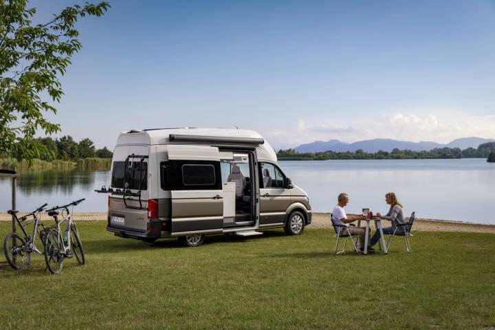 VW Volkswagen Nutzfahrzeuge AG: Der neue Grand California: Start in eine neue Dimension; Fotocredit: VW Volkswagen Nutzfahrzeuge AG