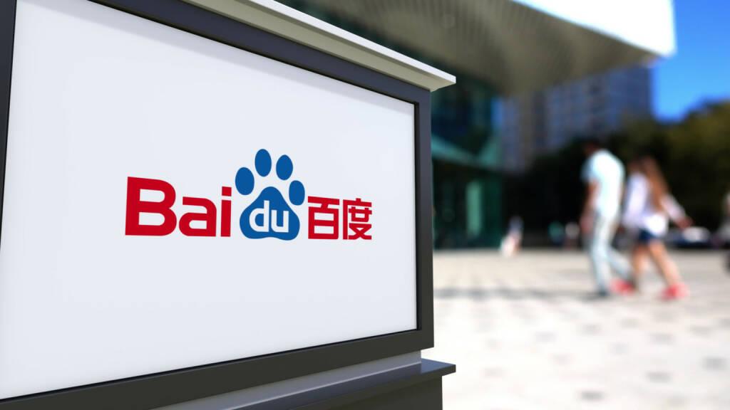 Baidu logo - https://de.depositphotos.com/130067552/stock-photo-street-signage-board-with-baidu.html, &copy; <a href=