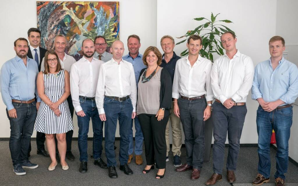 Agrartechnologie-Startup Farmdok erhält hohes sechsstelliges Investment für Europa Rollout, tecnet equity und Business Angel Walter Riess holen Mauthner Gruppe, Roland Tauchner und Patrick Pöschl an Board. Fotocredit: PrimeCROWD (10.08.2018)