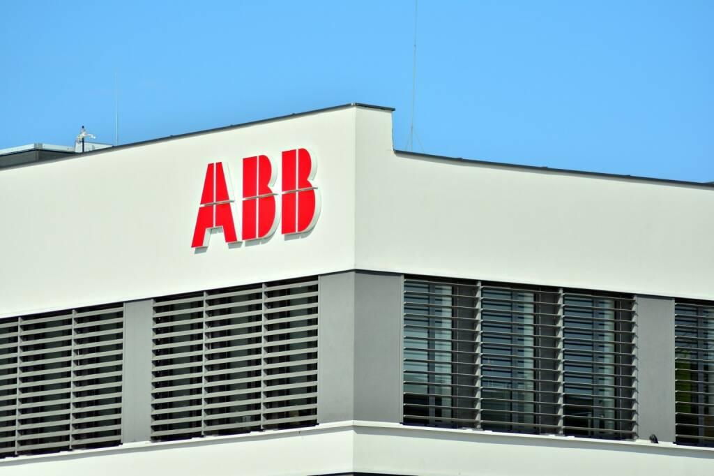 ABB - Logo, https://de.depositphotos.com/188285274/stock-photo-warsaw-poland-march-2018-sign.html, &copy; <a href=