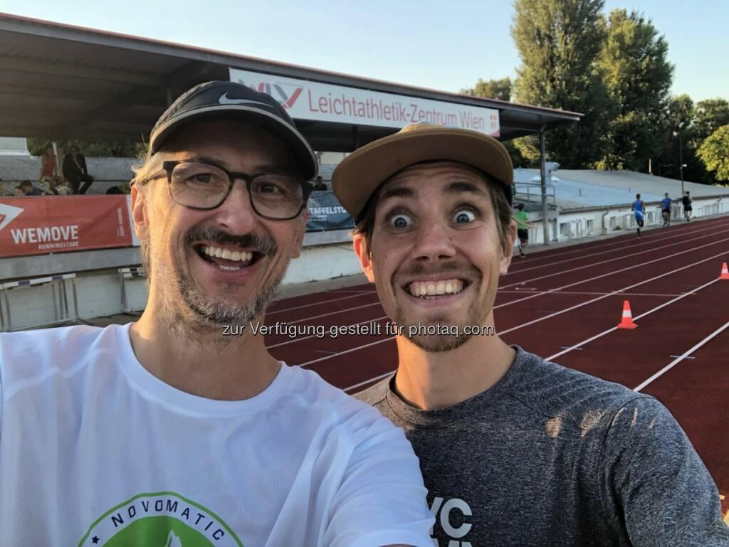 Josef Chladek, Christoph Sander - Danke für die coole Veranstaltung! (16.08.2018)
