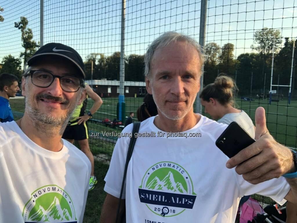 Josef Chladek, Christian Drastil, Novomatic Smeil Alps 2018 (16.08.2018)