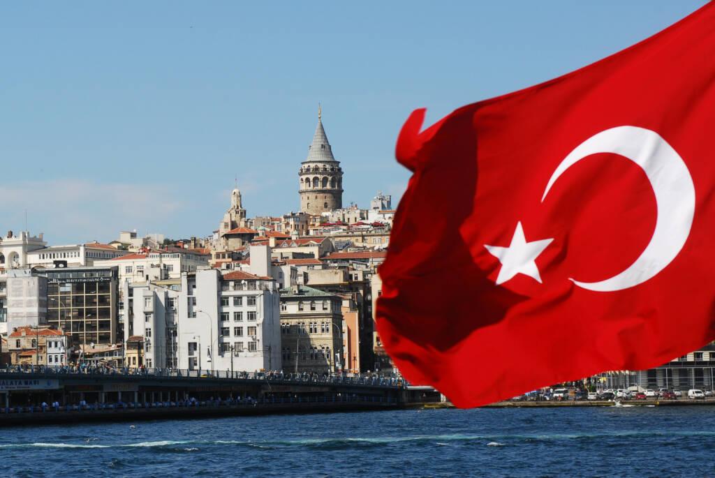 Istanbul, Türkei, Flagge, Fahne - https://de.depositphotos.com/7360325/stock-photo-turkey.html, &copy; <a href=