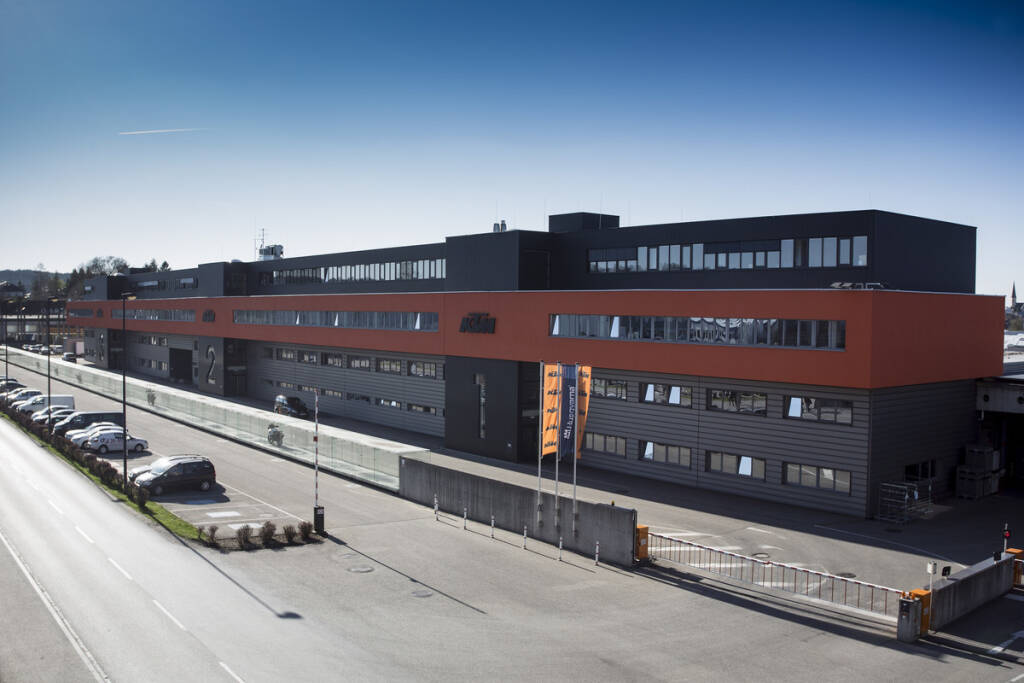 KTM AG Hauptgebäude Mattighofen; Copyright: KTM AG, © Aussendung (23.08.2018)