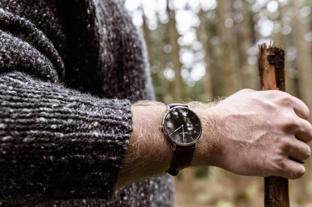 """Das Wiener Start-up """"JEDERMANN"""" macht sich zum Ziel, hochqualitative Uhren mit Schweizer Werken und Saphirgläsern zu einem angemessenen Preis auf den Markt zu bringen. Auf Zwischenhändler wird bewusst verzichtet; vertrieben wird ausschließlich über den eigenen Online-Shop. Credit: Jedermann (28.08.2018)"""