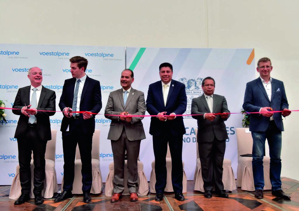 voestalpine: Werkseröffnung im mexikanischen Aguascalientes. Credit: voestalpine, © Aussendung (30.08.2018)