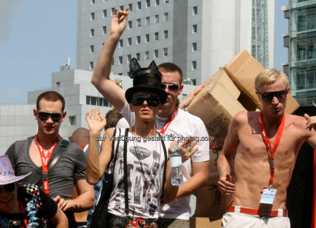 Regenbogenparade in Wien (14.06.2013)