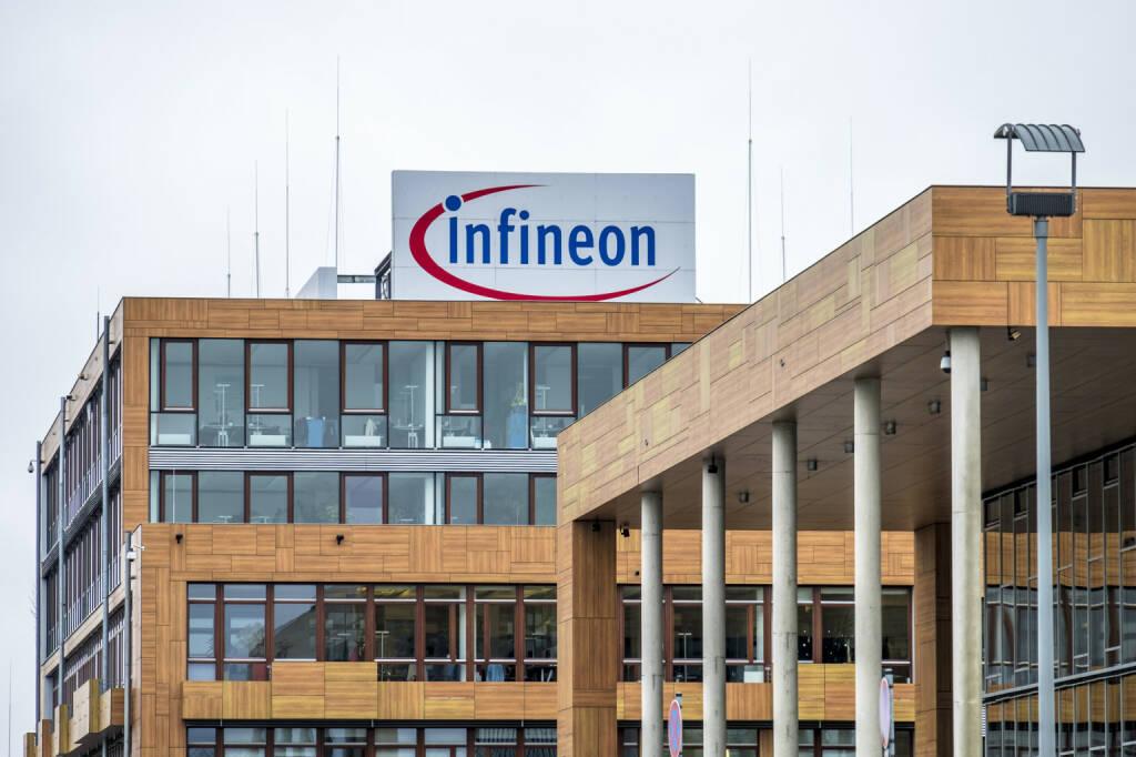 Infineon headquarter nahe München - https://de.depositphotos.com/188361350/stock-photo-neubiberg-germany-february-16-2018.html, &copy; <a href=