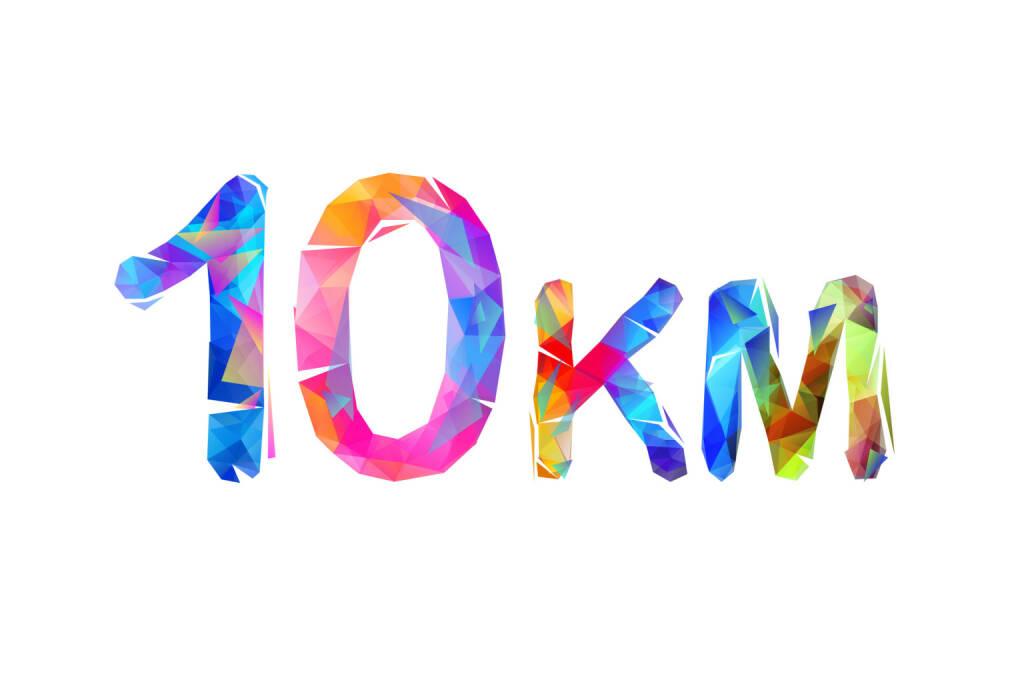 10 km, 10km, Zehn Kilometer - https://de.depositphotos.com/211118184/stock-illustration-medium-running-distance-sign-triangle.html, &copy; <a href=