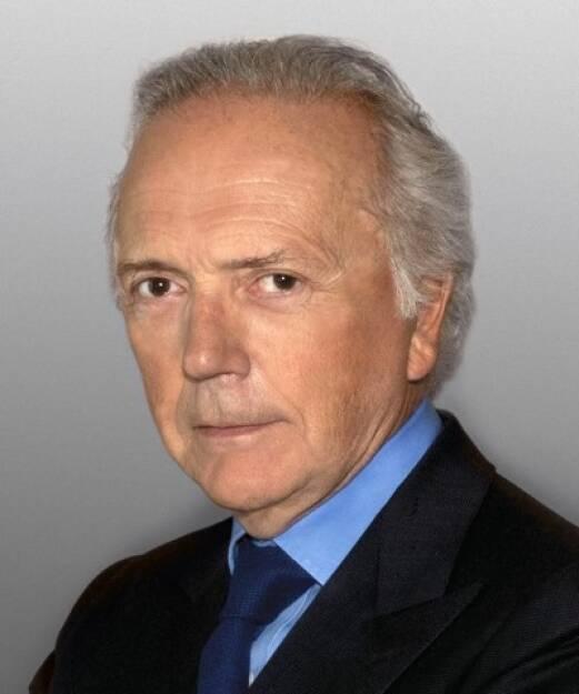 Edouard Carmignac, Mitgründer von der Vermögensverwaltung Carmignac; Carmignac wurde 1989 gegründet und zählt heute zu den größten Vermögensverwaltungen in Europa. Carmignac verwaltet ein Vermögen von über 55 Mrd. Euro; Credit: Carmignac (11.09.2018)