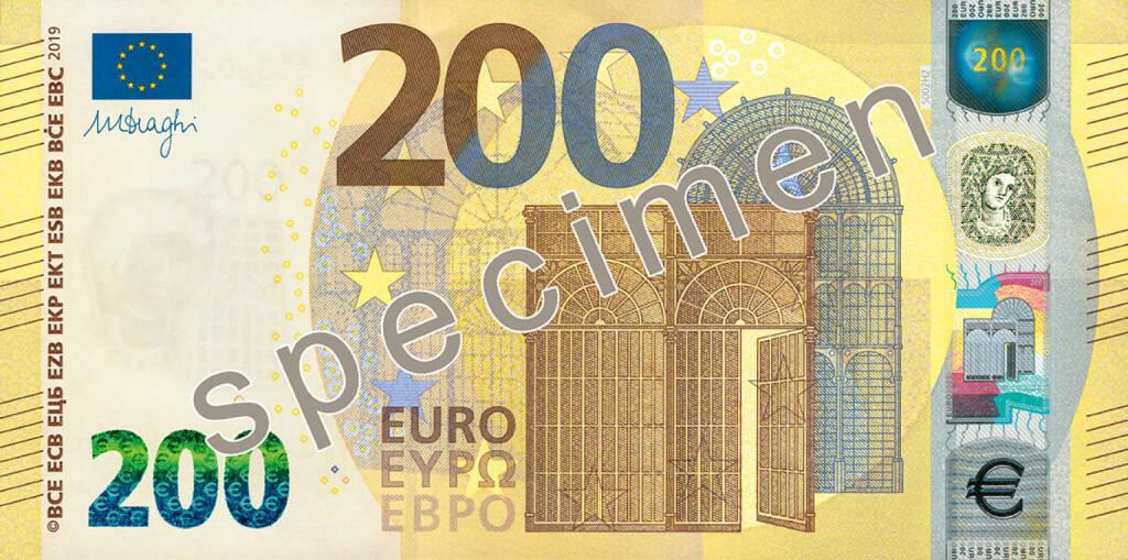 Oesterreichische Nationalbank: OeNB präsentiert neue 100- und 200-Euro-Banknoten; Fotocredit:EZB/OeNB, &copy; <a href=