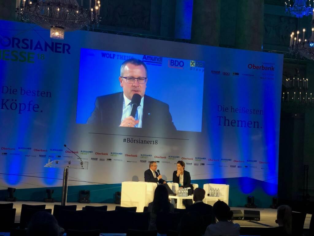 Börsianer Messe: FACC-CEO Robert Machtlinger (20.09.2018)