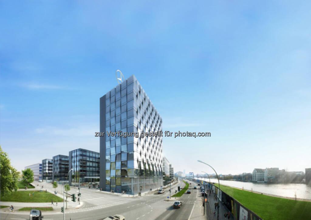 CA Immo stellt neue Unternehmenszentrale für Mercedes-Benz Vertrieb Deutschland in Berlin fertig  (c) CA Immo (15.06.2013)