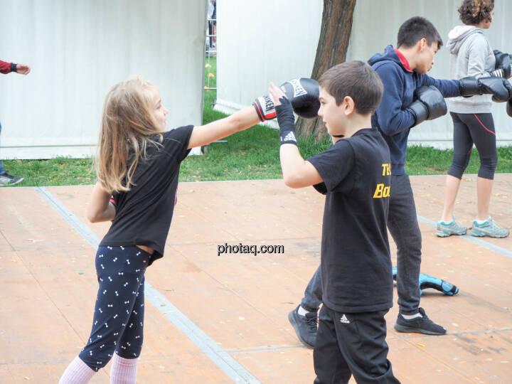 Kickboxen, Boxen
