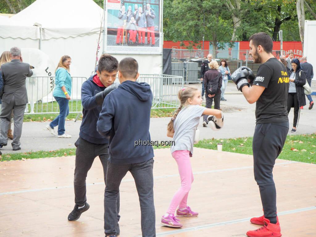 Kickboxen, Boxen, © photaq.com (23.09.2018)