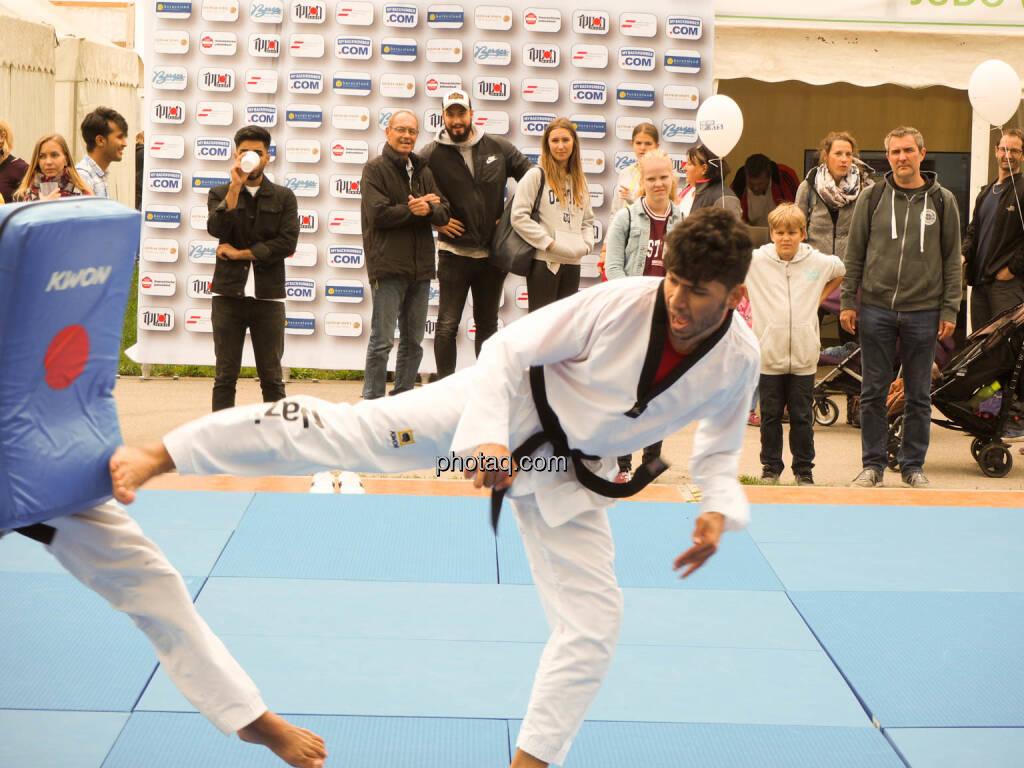 Taekwondo, Tritt, © photaq.com (23.09.2018)