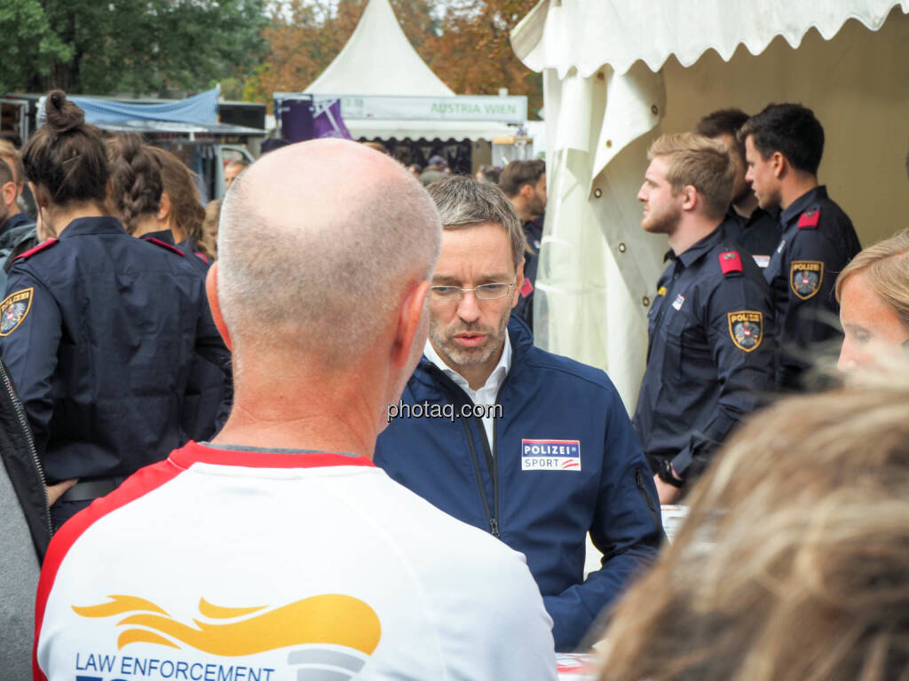 Herbert Kickl, Bundesministerium für Inneres, © photaq.com (23.09.2018)