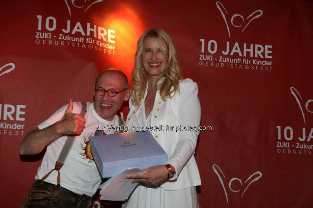 Johannes Gutmann (Sonnentor), Claudia Stöckl, © Nobert Ivanek (15.06.2013)
