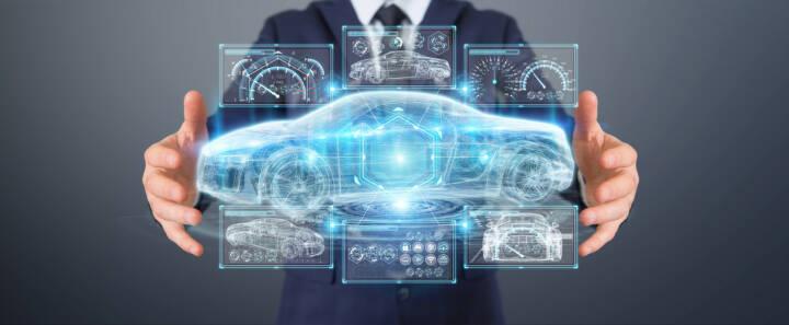 Auto, Zukunft, Visualisierung https://de.depositphotos.com/192025430/stock-photo-businessman-using-modern-smart-car.html