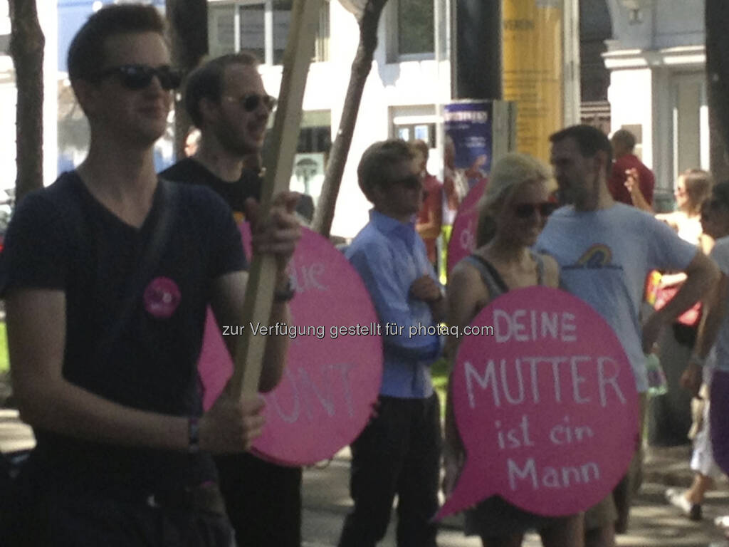 Regenbogenparade 2013 in Wien, Neos Claudia Gamon (16.06.2013)