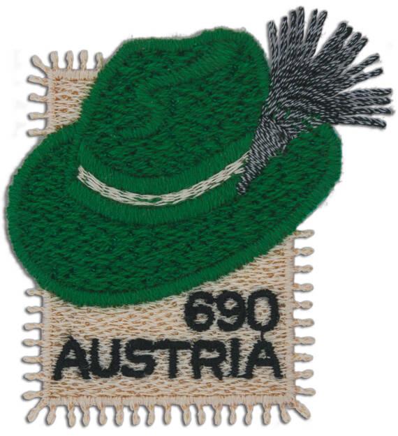 Österreichische Post AG: Briefmarke, ein Steirerhut zum Kleben, Quelle: Post, © Aussendung (28.09.2018)