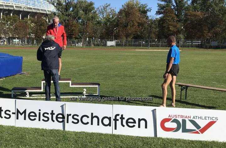 Christian Drastil Wiener M50 Meister über 10k auf der Bahn