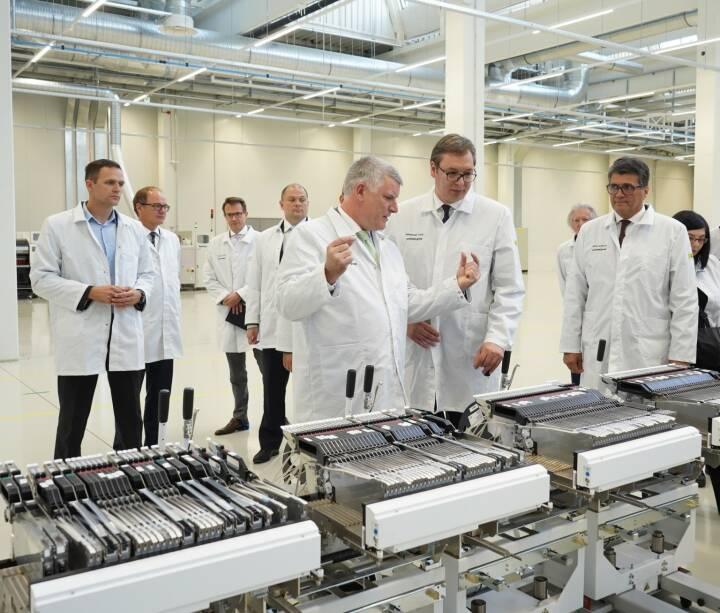 Zumtobel Group eröffnet neues Werk in Niš, Serbien:  Credit: Zumtobel