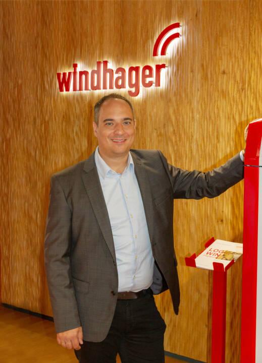 Roman Seitweger ist neuer Geschäftsführer in der Windhager Zentralheizung Technik GmbH; Credit: Windhager