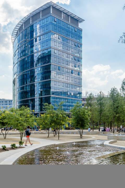 CA Immo übernimmt das 21.700 m2 fassende Bürogebäude Warsaw Spire Building C für rund 100 Mio. Euro, Credit: CAImmo