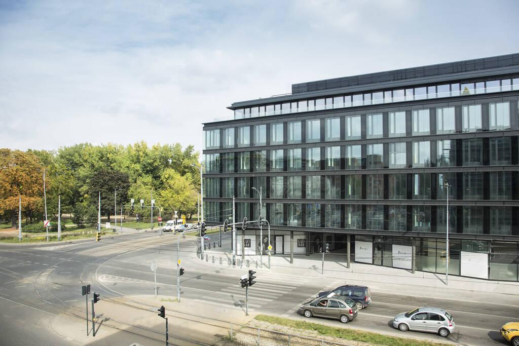 Warimpex, Ogrodowa Office im polnischen Łódź, Credit: Warimpex (04.10.2018)