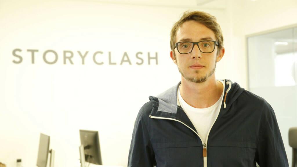 Der aws Gründerfonds investiert einen sechsstelligen Betrag in das Linzer Start-up Storyclash GmbH und deren Lösung für ein Social-Media-Monitoring-Tool. Redaktionen können damit effektiv auf aktuelle Trends reagieren und ihre Content-Strategie in Echtzeit anpassen. Das Investment wird für die Weiterentwicklung der Software, verstärktes Marketing und das weitere Wachstum verwendet. Storyclash GmbH, Andreas Gutzelnig; Fotocredit:Storyclash GmbH (10.10.2018)