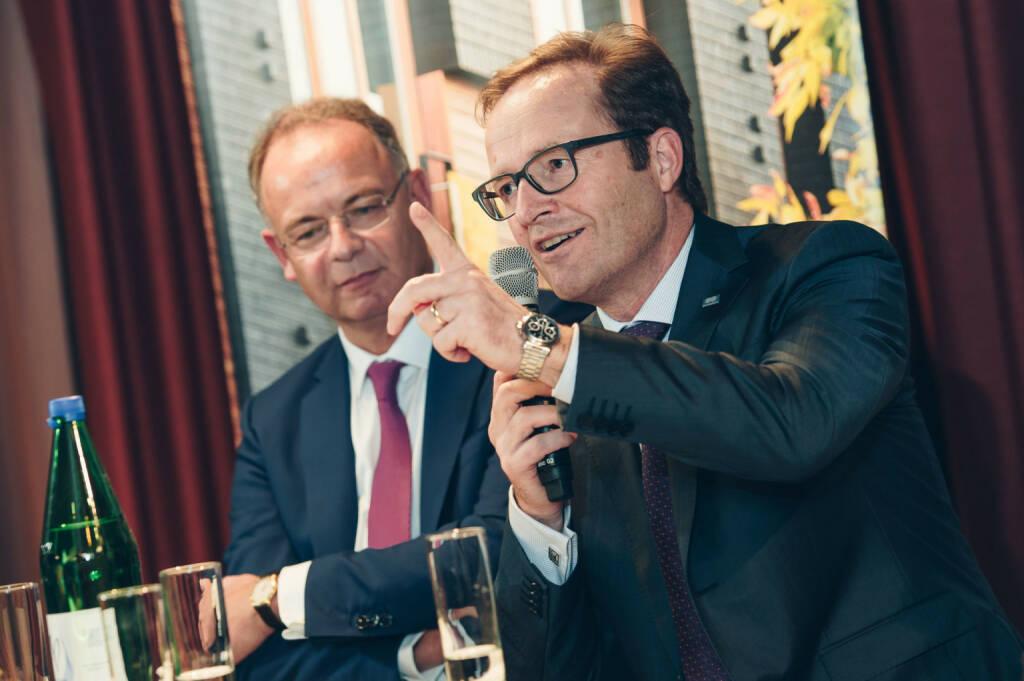 Wienerberger AG: Expertendiskussion der Industriellenvereinigung in Brüssel, Wienerberger-CEO-Scheuch, Copyright: Julie de Bellaing, © Aussender (12.10.2018)