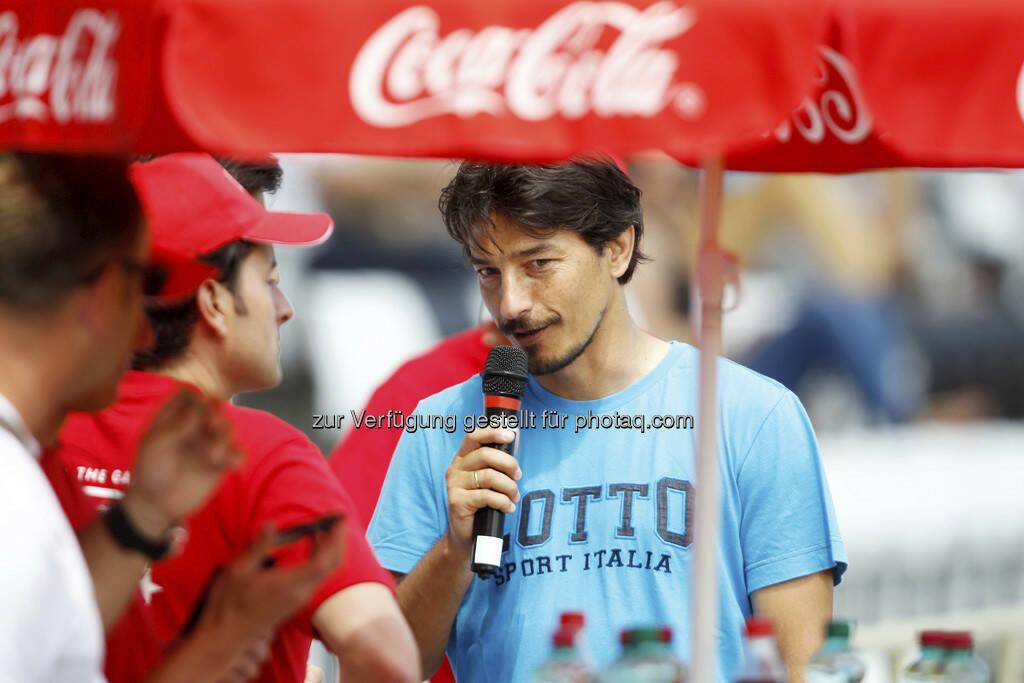 Coca Cola Cup, Bundesfinale, Ivica Vastic. Foto: GEPA pictures/ Mario Kneisl (17.06.2013)