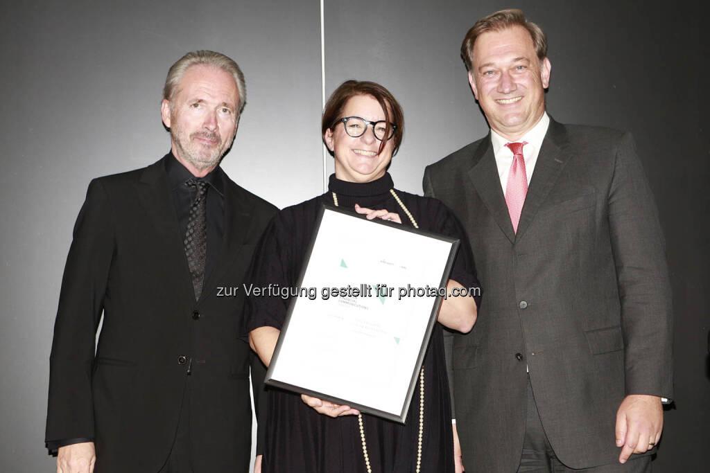 C.I.R.A. Jahreskonferenz 2018, Judit Helenyi (Flughafen Wien), Nico Baader (Baader Bank), © C.I.R.A./APA-Fotoservice/Bargad Fotograf/in: Nadine Bargad (18.10.2018)