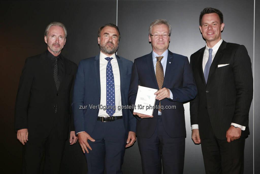 C.I.R.A. Jahreskonferenz 2018, Florian Greger (OMV), Christoph Boschan (Wiener Börse), © C.I.R.A./APA-Fotoservice/Bargad Fotograf/in: Nadine Bargad (18.10.2018)