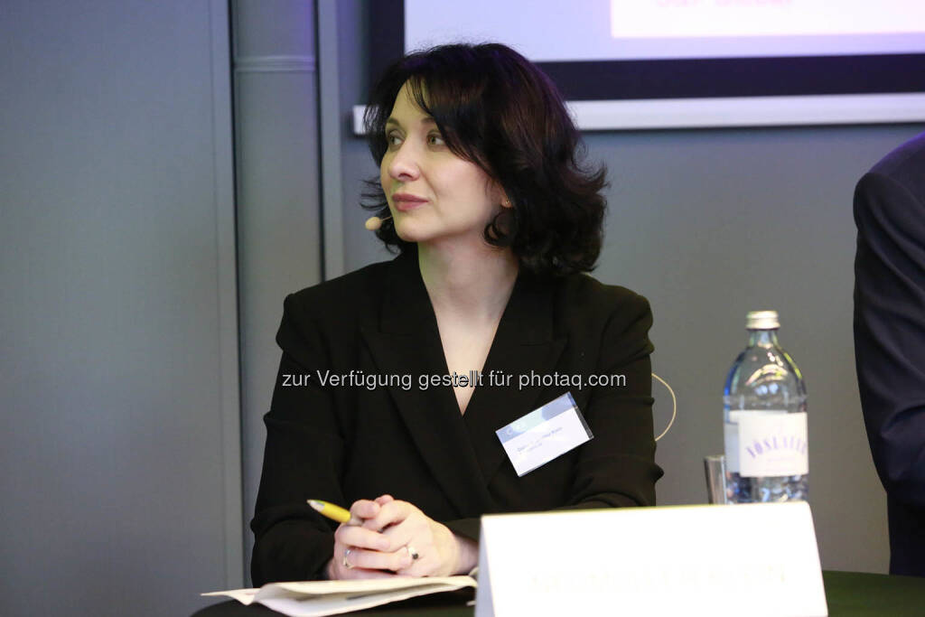 C.I.R.A. Jahreskonferenz 2018, Diana Klein (Strabag), © C.I.R.A./APA-Fotoservice/Bargad Fotograf/in: Nadine Bargad (18.10.2018)