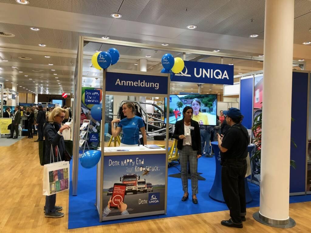 Uniqa auf der Gewinn Messe (18.10.2018)