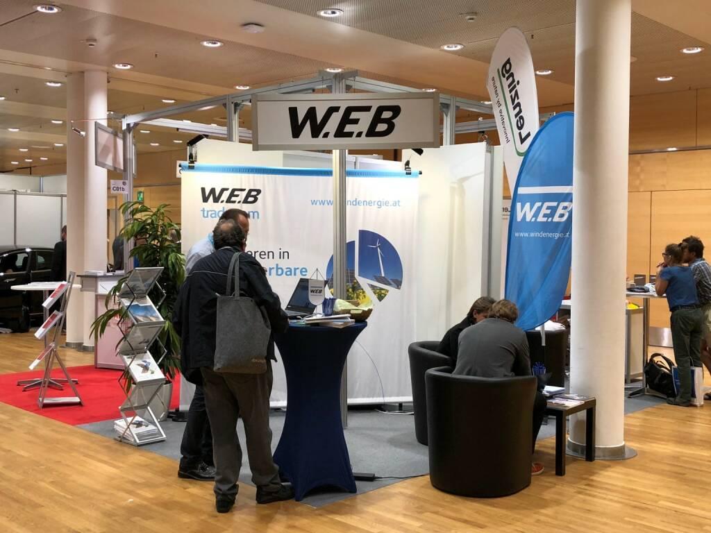 W.E.B Windenergie, Gewinn Messe (18.10.2018)