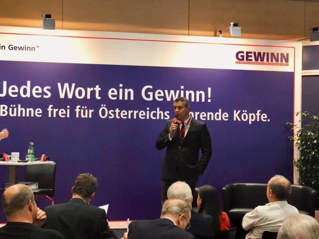 Star der Stunde: Immofinanz-CEO Oliver Schumy (18.10.2018)