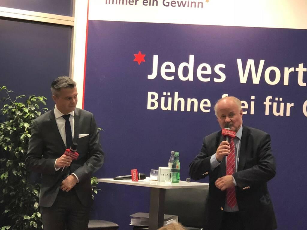 A1 Telekom Austria-CEO Thomas Arnoldner bei Georg Wailand (Gewinn) als Star der Stunde (18.10.2018)