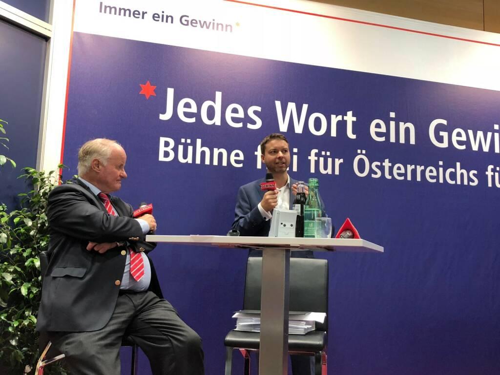 Star der Stunde bei Georg Wailand: Palfinger-CFO Felix Strohbichler (18.10.2018)