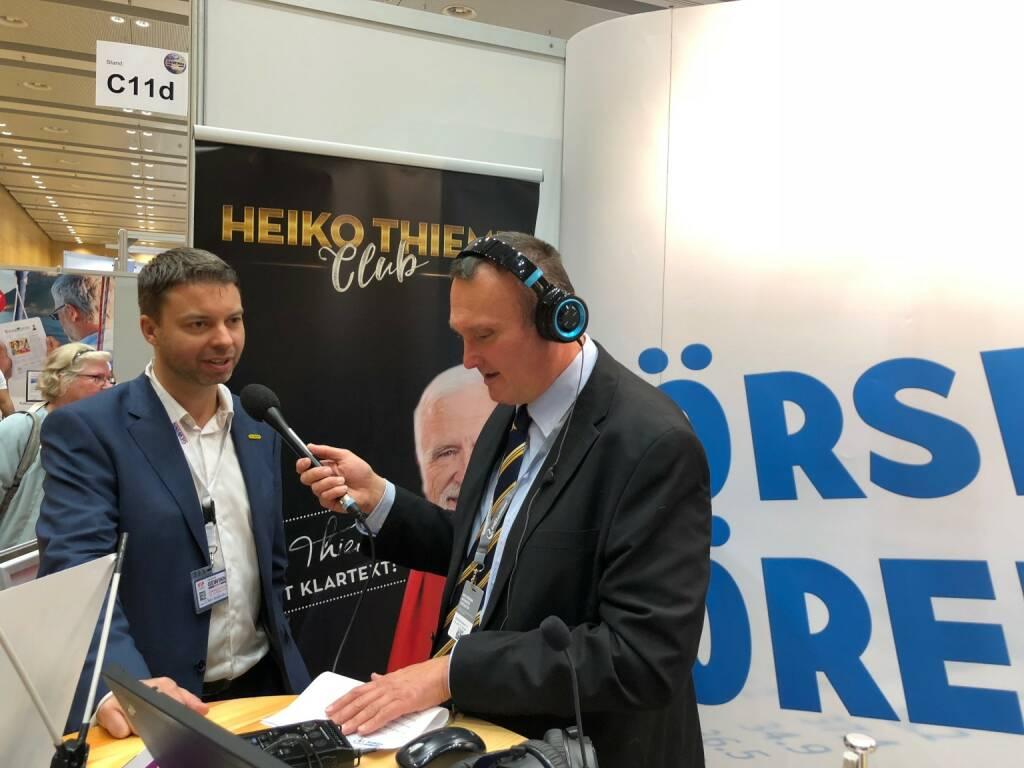 Palfinger-Finanzvorstand Felix Strohbichler mit Peter Heinrich von boersenradio.at (18.10.2018)