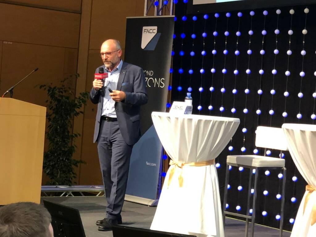 Franz Gschiegl, Erste Sparinvest, auf der Gewinn Messe (18.10.2018)
