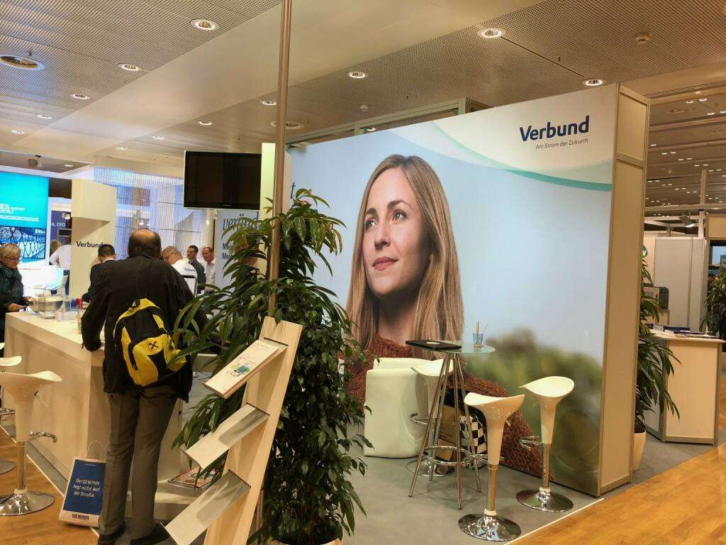 Verbund, Gewinn Messe (18.10.2018)