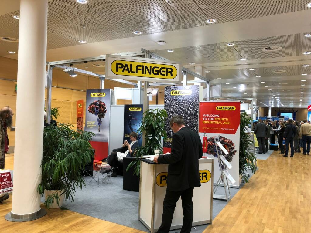 Palfinger, Gewinn Messe (18.10.2018)