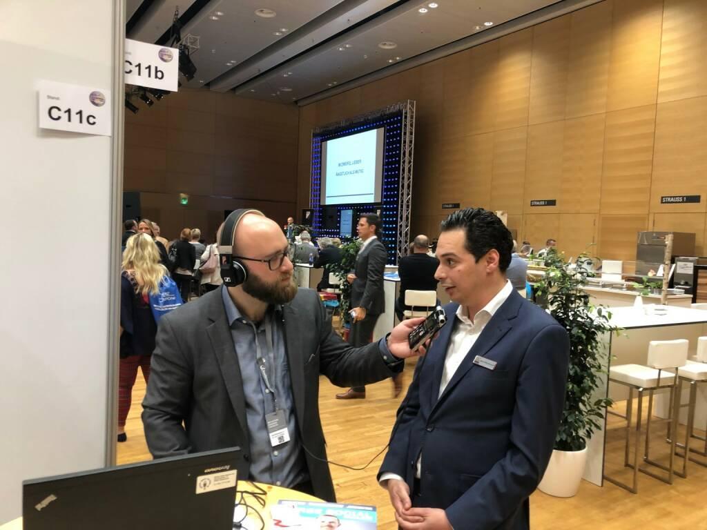 Sebastian Leben von boersenradio.at mit Salah-Eddine Bouhmidi (IG.com) (22.10.2018)
