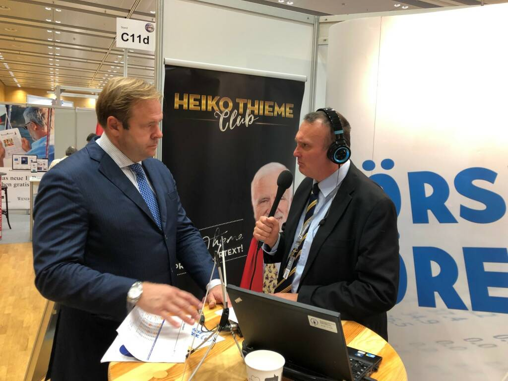 Klaus Umek (Petrus-Advisers) mit Peter Heinrich von boersenradio.at (22.10.2018)