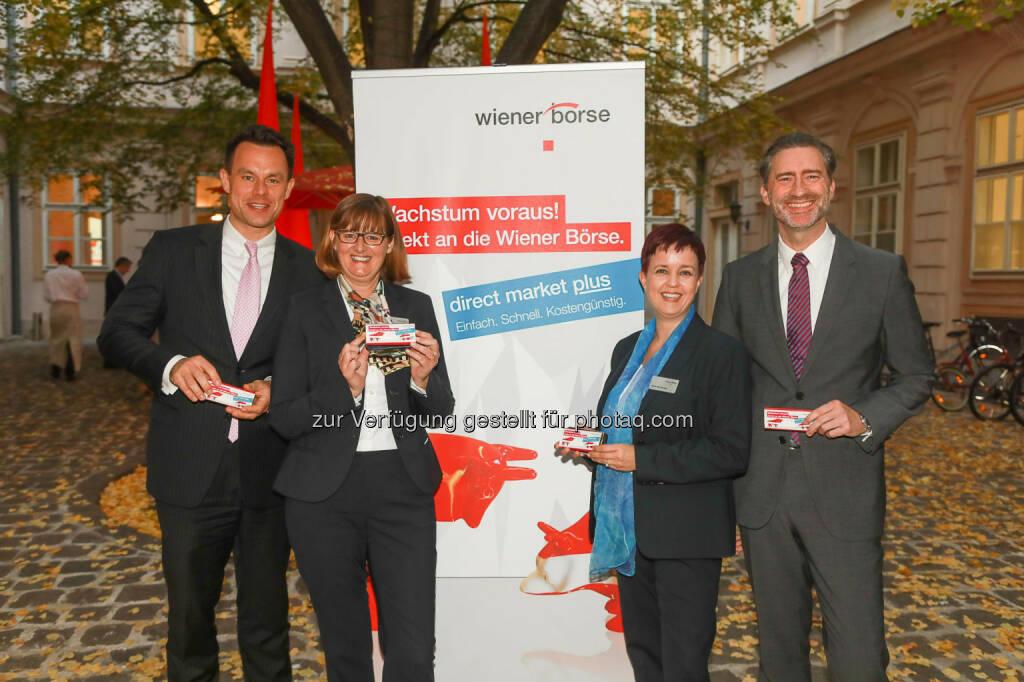 Christoph Boschan, Henriette Lininger, Martin Wenzl, © APA-Fotoservice (29.10.2018)