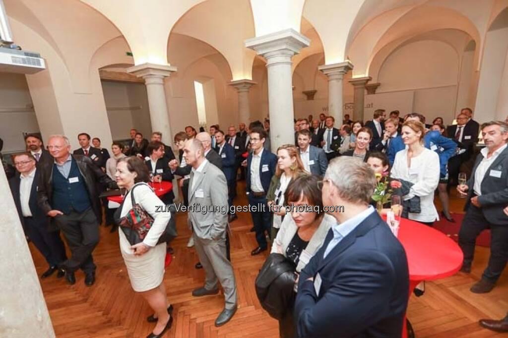 Säulenhalle, Wiener Börse - direct network event 2018, © APA-Fotoservice (29.10.2018)
