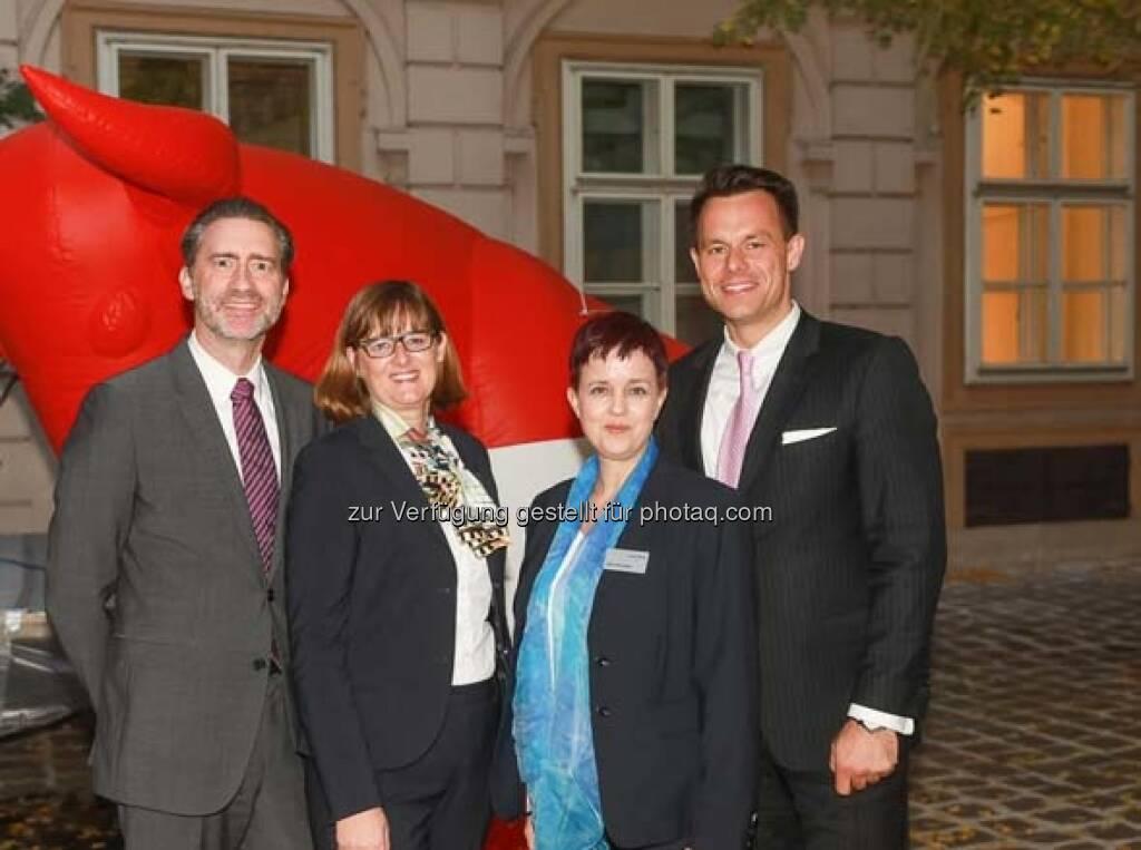 Martin Wenzl, Henriette Lininger, Christoph Boschan, © APA-Fotoservice (29.10.2018)